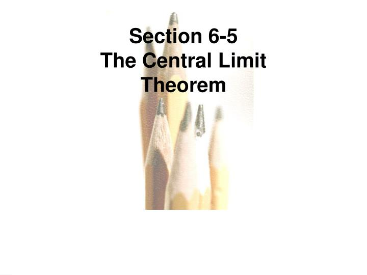 Section 6-5