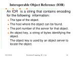 interoperable object reference ior1