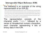 interoperable object reference ior2