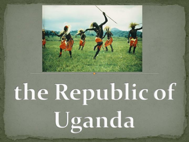 the republic of uganda n.