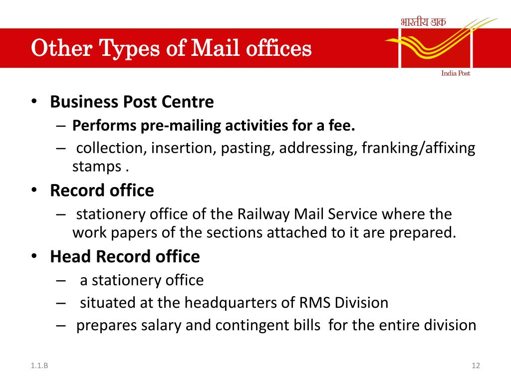 Ppt Railway Mail Service Powerpoint Presentation Free