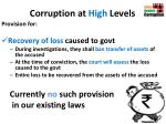 corruption at high levels2