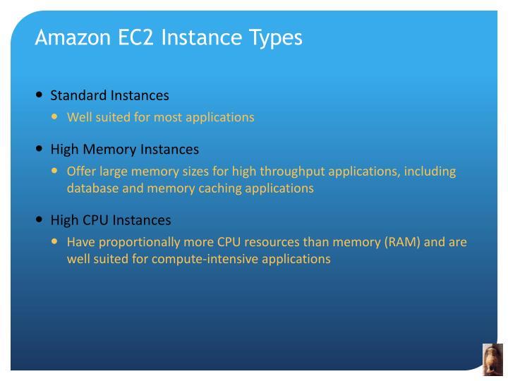 Amazon EC2 Instance Types