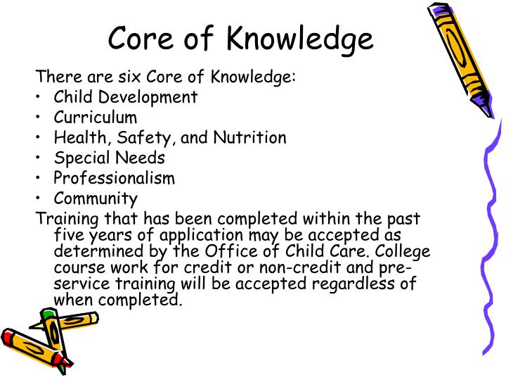 Core of Knowledge