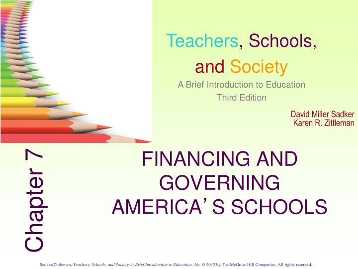 Financing and governing america s schools