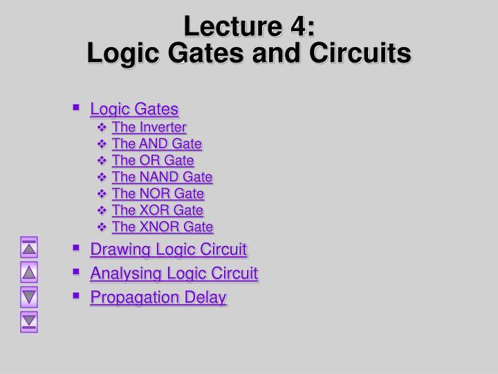 PPT - CT455: Computer Organization Logic gate PowerPoint ...