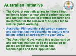 australian initiative