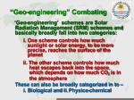 geo engineering combating1