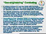 geo engineering combating3