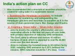 india s action plan on cc2