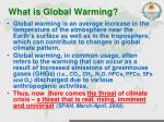 what is global warming