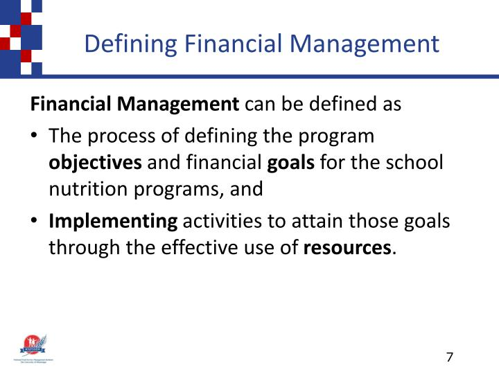 Defining Financial Management