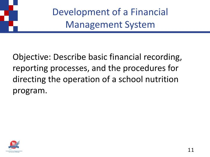 Development of a Financial Management System