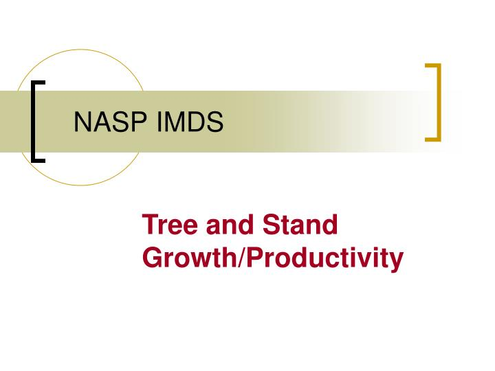 Ppt nasp imds powerpoint presentation id5702159 nasp imds malvernweather Image collections