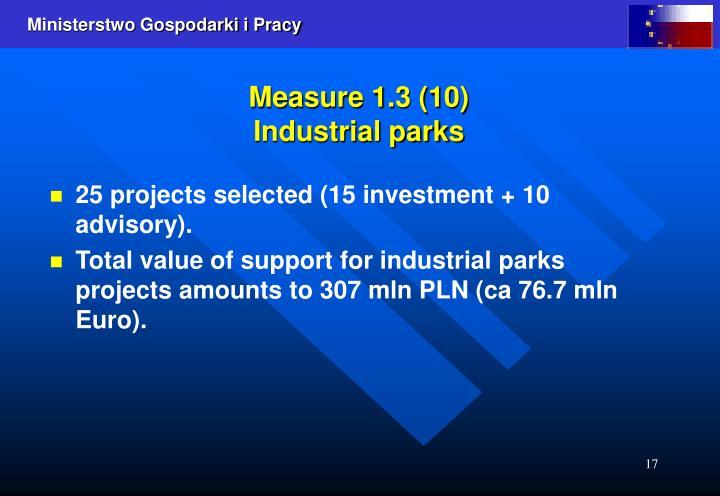 Measure 1.3 (10)