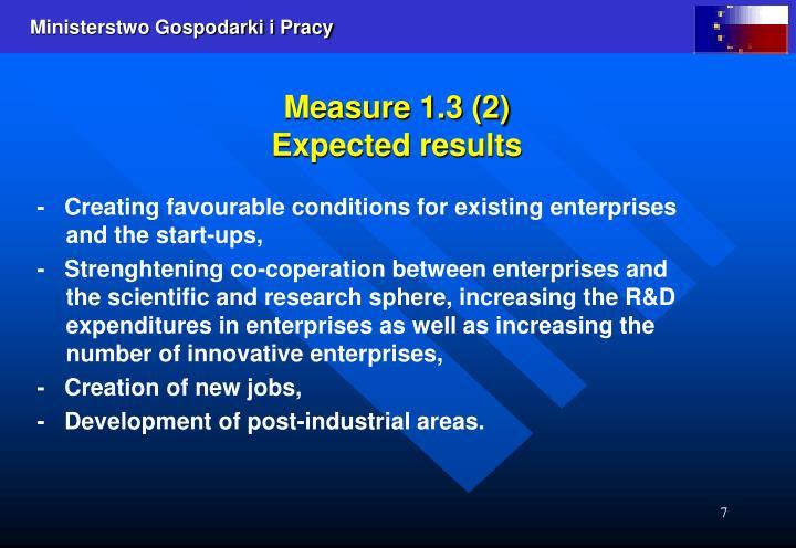Measure 1.3 (2)