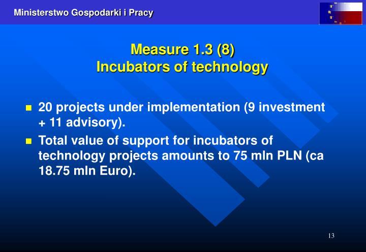 Measure 1.3 (8)