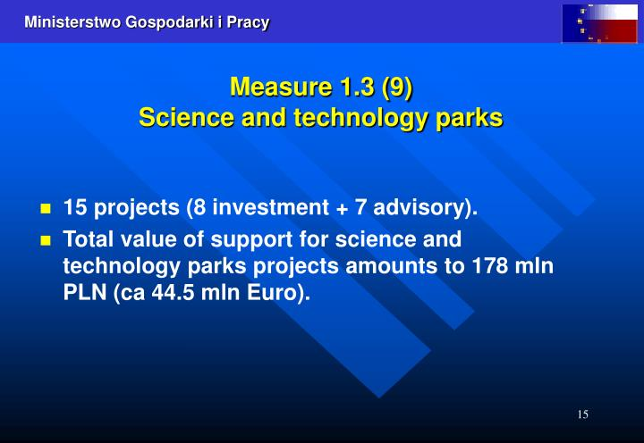 Measure 1.3 (9)