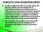 publicity and awareness drive3
