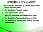 stakeholder s analysis2