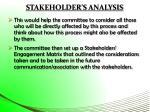 stakeholder s analysis3