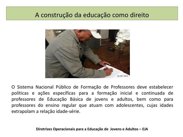 Diretrizes Operacionais para a Educação