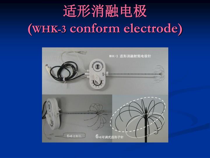 适形消融电极