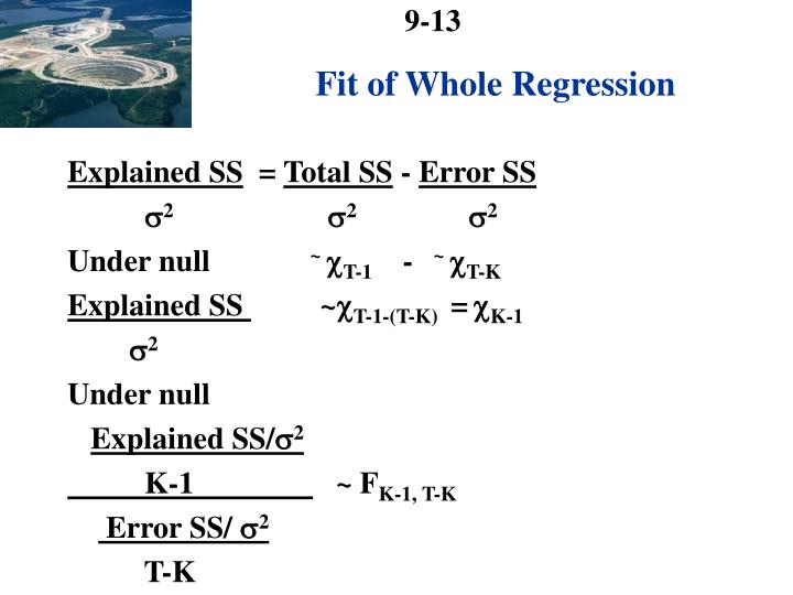 Fit of Whole Regression