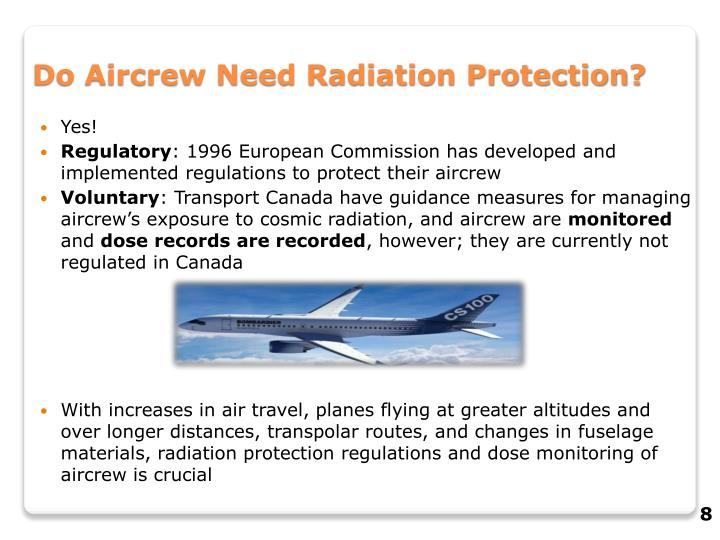 Do Aircrew Need Radiation Protection?