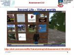 second life virtual worlds