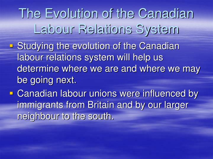 the history and evolution of trade unions Chapter 21 labor unions final draft, august 2009  this will be followed by a synoptic history of unions in america and the current state of affairs.