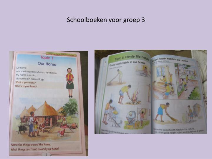 Schoolboeken voor groep 3