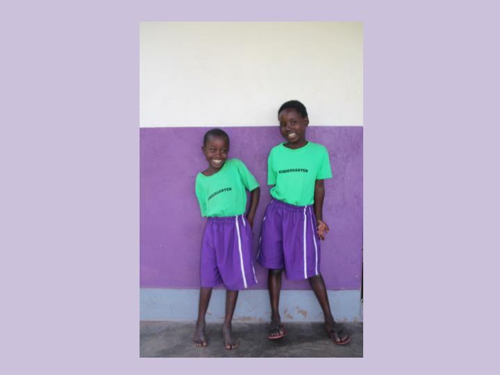 De school van helida rose en nickson in chawolo oeganda