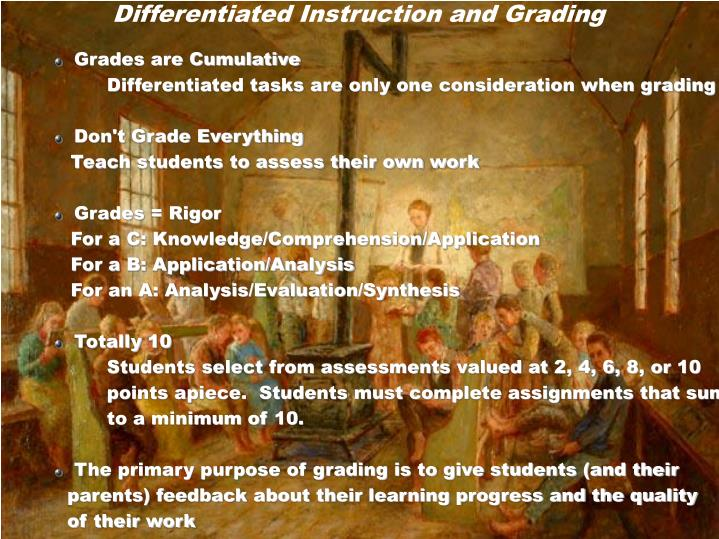 Ppt Differentiating Instruction In The Regular Classroom By Diane
