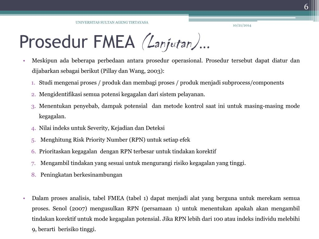 Ppt Integrating Fuzzy Inference And Fmea To Prioritize