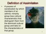 definition of assimilation