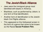 the jewish black alliance