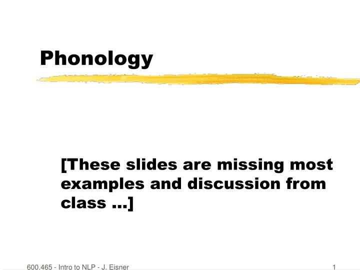 Ppt Phonology Powerpoint Presentation Id5704385
