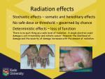 radiation effects1