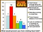 soul caf survey results
