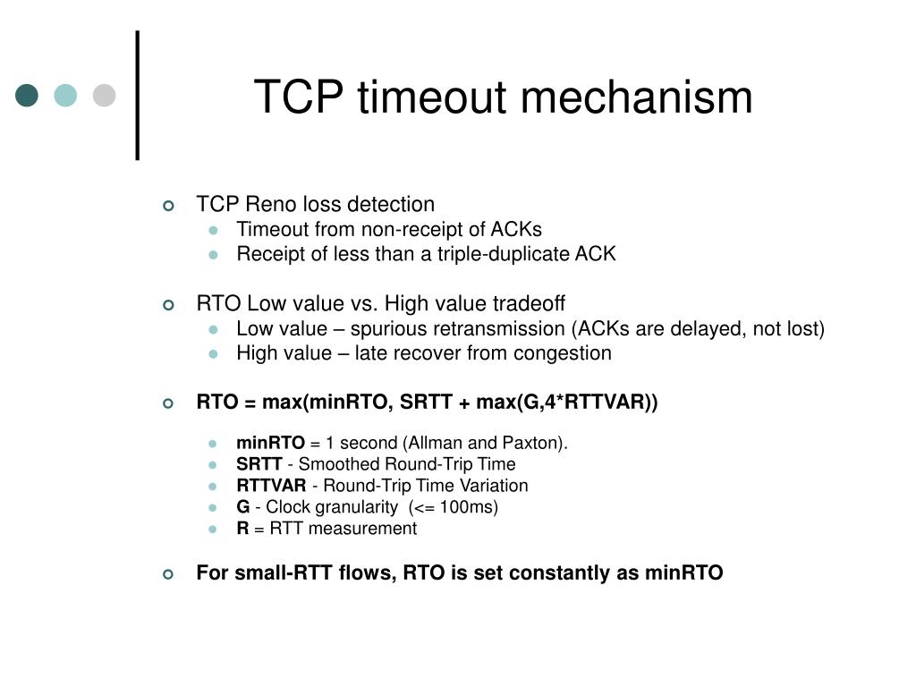PPT - Low-Rate TCP-Targeted Denial of Service Attacks (The