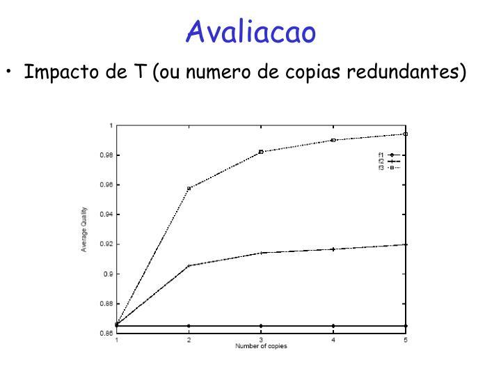 Avaliacao