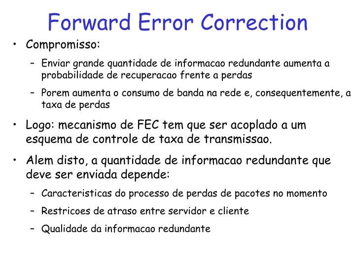 Forward error correction