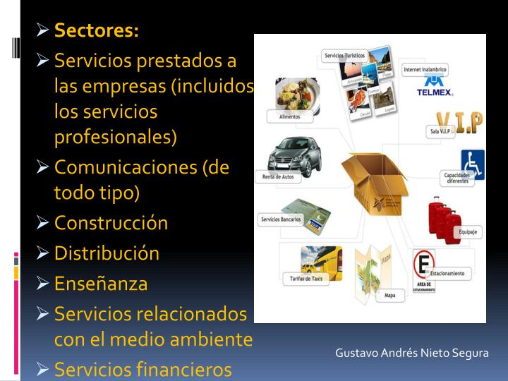 Sectores: