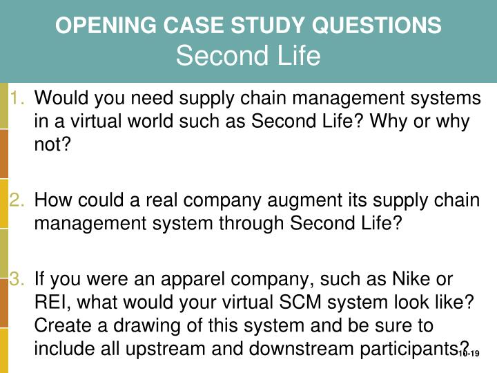 second life case study mis by Start studying chapter 2 learn vocabulary, terms, and more with flashcards, games, and other study tools search  from your reading of the chapter-opening case study discussing abb's.