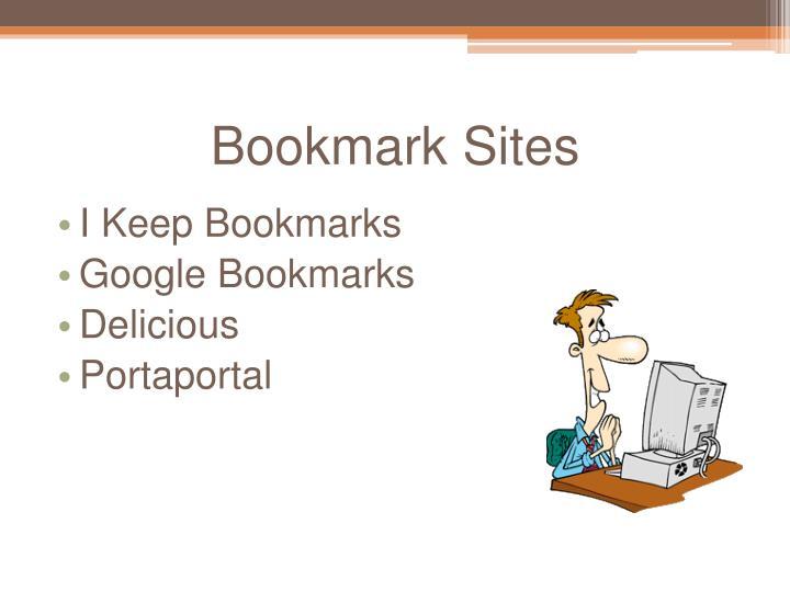 Bookmark Sites