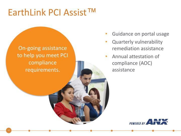 EarthLink PCI Assist