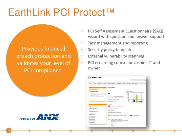 EarthLink PCI Protect