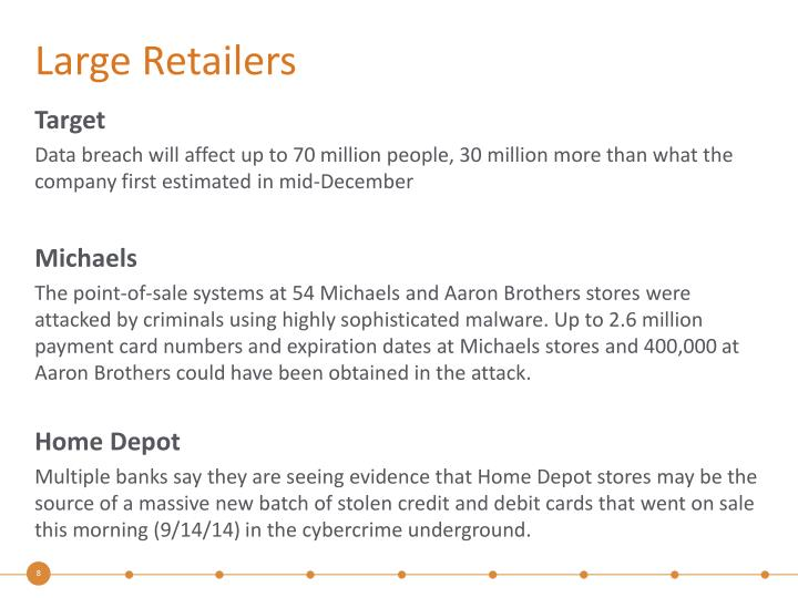 Large Retailers