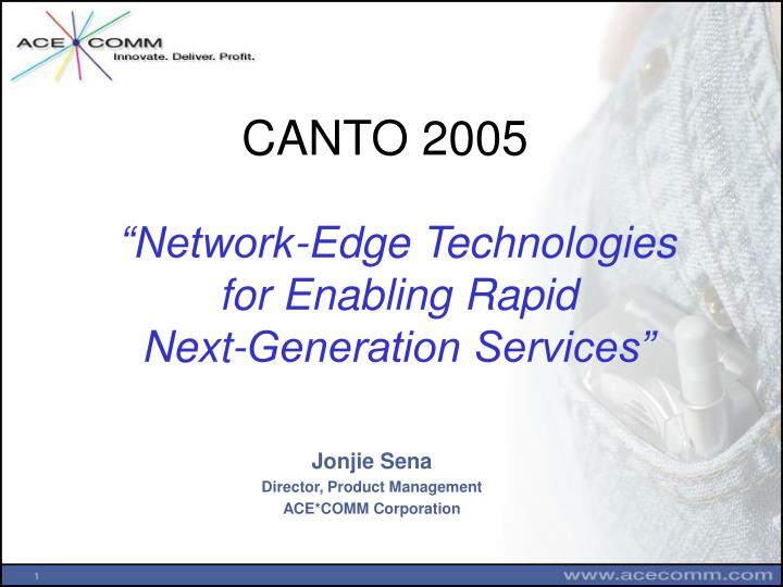 network edge technologies for enabling rapid next generation services n.